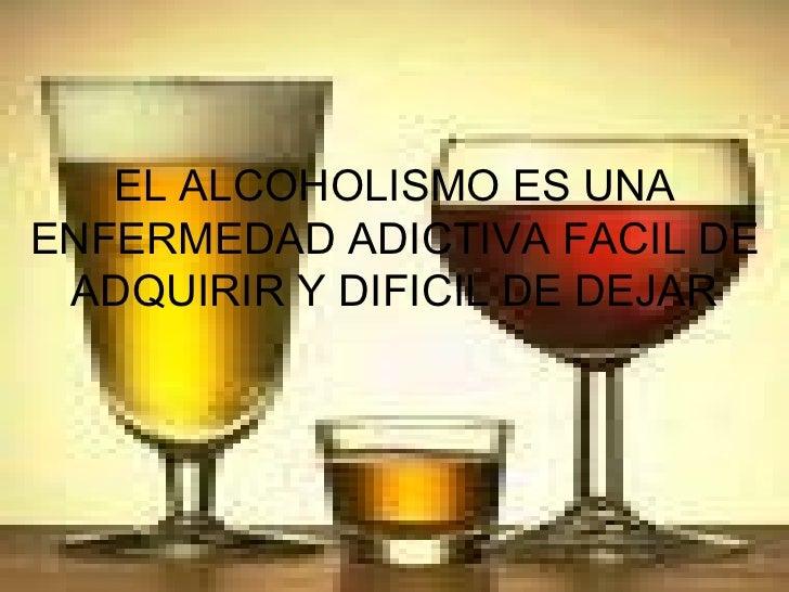 Los proyectos contra el alcoholismo