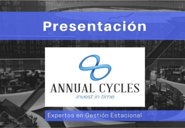 Expertos en gestión estacional   AnnualCycles.com