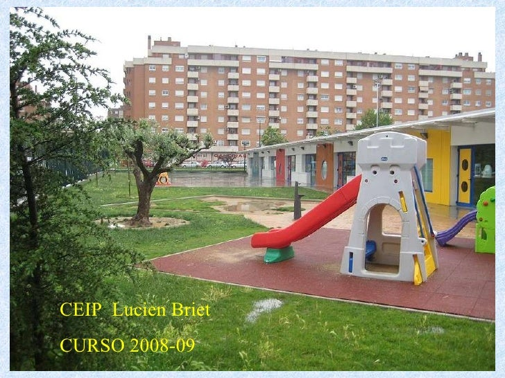 CEIP  Lucien Briet CURSO 2008-09