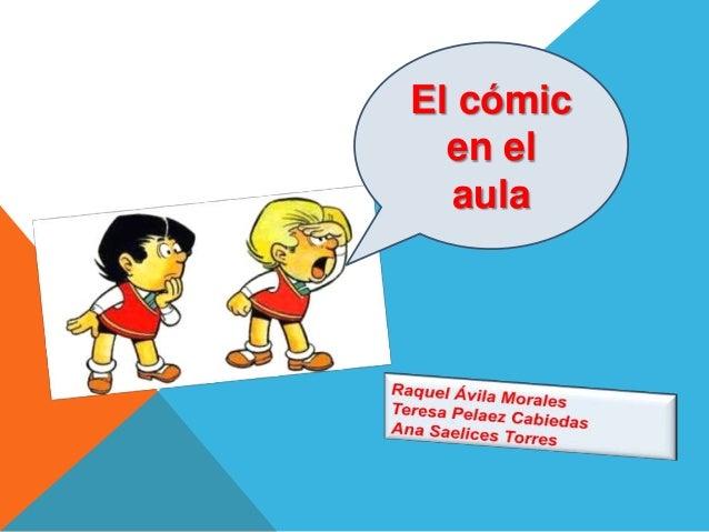 El cómic  en el  aula