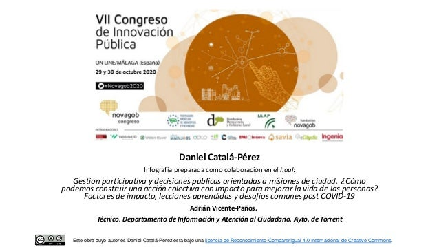 Daniel Catalá-Pérez Infografía preparada como colaboración en el haul: Gestión participativa y decisiones públicas orienta...
