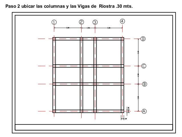 Presentacion 1 dibujo de estructuras for Donde ubicar las escaleras en una vivienda