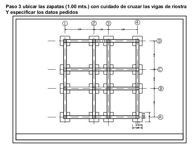 Presentacion 1 dibujo de estructuras for Plano de planta dibujo tecnico
