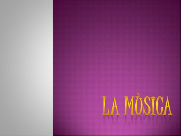 """La música (del griego: μουσική [  τέχνη] -mousik ē [téchn ē], """"el  arte de las musas"""") es, según la  definición tradiciona..."""