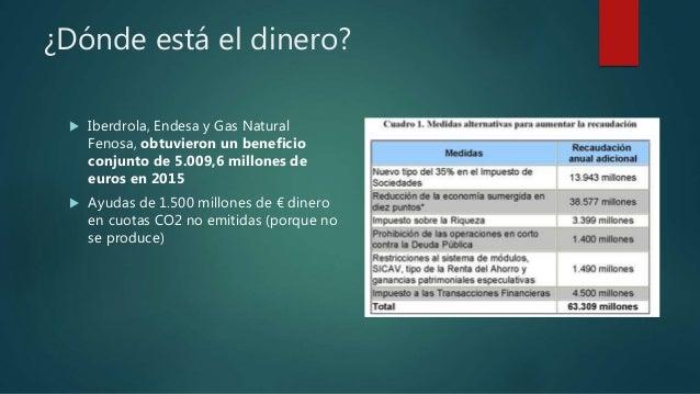 El futuro del carb n for Cambio titularidad gas natural