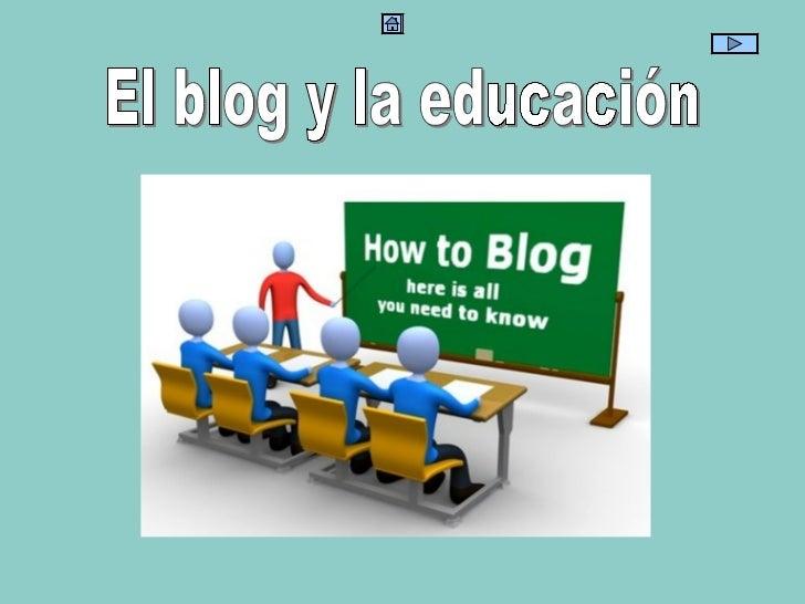 El blog y la educación