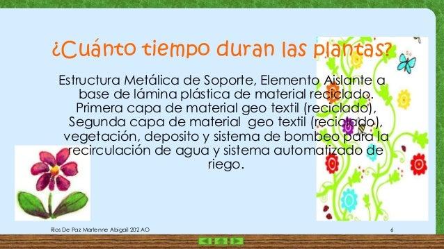 Presentacion 1 jardines verticales for Que es un jardin vertical