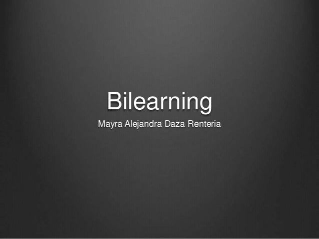 Bilearning Mayra Alejandra Daza Renteria