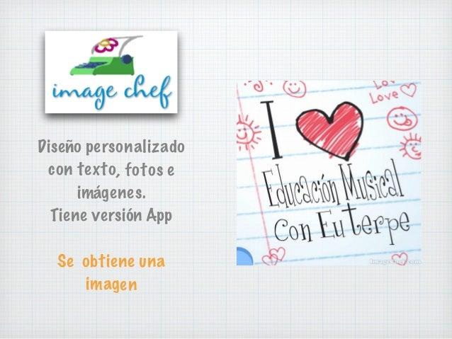 Diseño personalizado con texto, fotos e imágenes. Tiene versión App Se obtiene una imagen