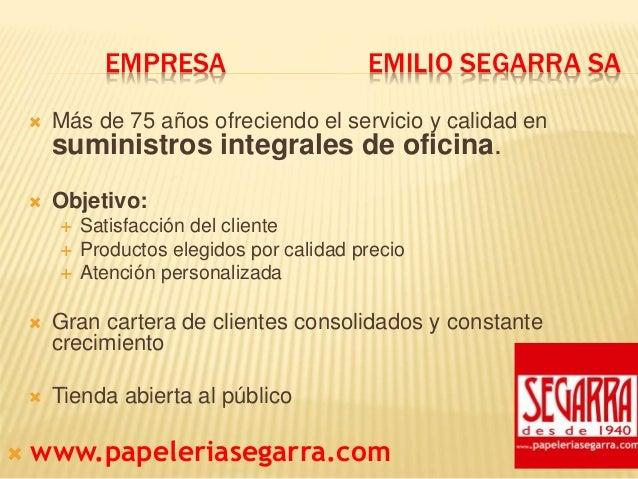 Presentacion Papeleria Segarra Slide 2