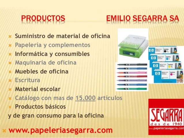 Presentacion Papeleria Segarra Slide 3
