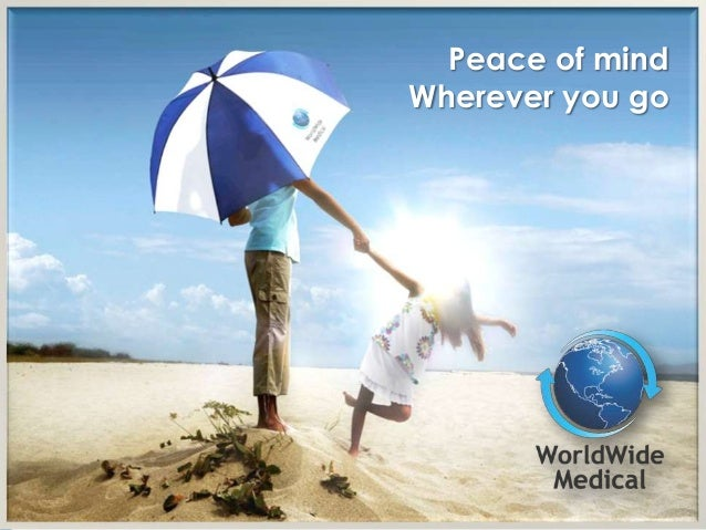 Peace of mindWherever you go