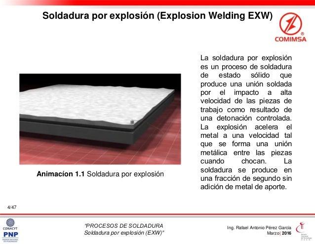 Soldadura por explosi n exw explosion welding for Que es soldadura