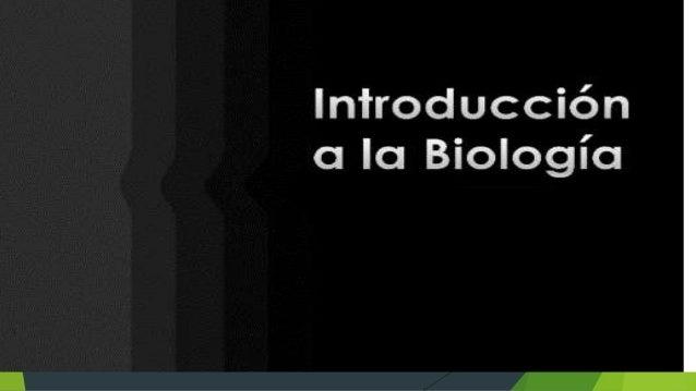 La Biología La biología es una disciplina científica que abarca un amplio espectro de campos de estudio que, a menudo, se ...