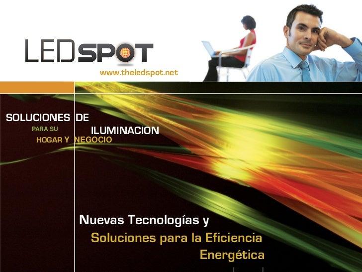 webmanagement   eBUSINESS DEVELOPMENT SERVICES                                     www.theledspot.netSOLUCIONES DE     PAR...