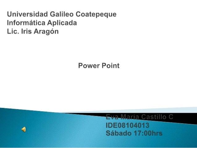  Microsoft PowerPoint es un programa de presentación desarrollado para sistemas operativos Microsoft Windows y Mac OS. Am...