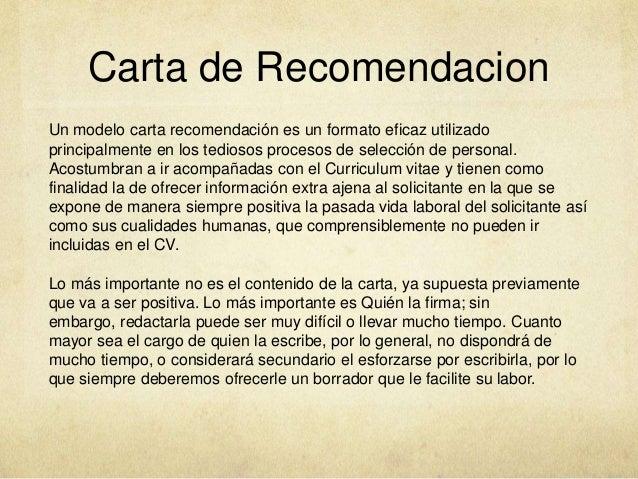 carta de recomendacion para un amigo