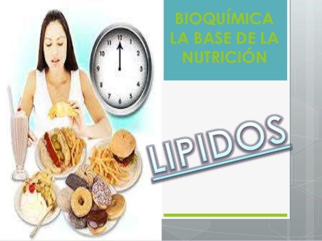 BIOQUÍMICA LA BASE DE LA NUTRICIÓN