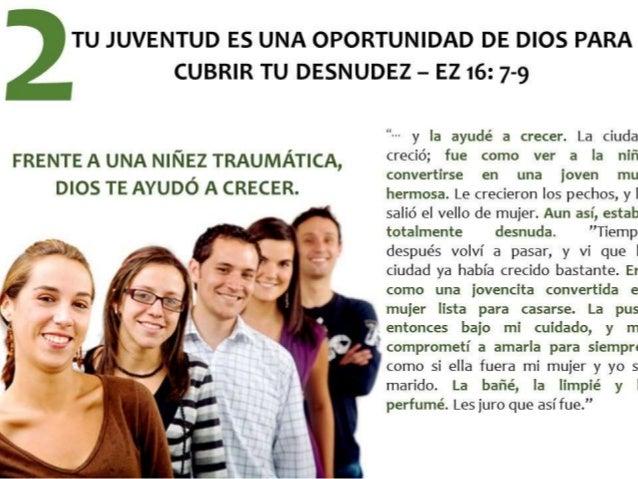 TU JUVENTUD ES UNA OPORTUNIDAD DE DIOS PARA  FRENTE A UNA NIÑEZ TRAUMÁTICA,  DIOS TE AYUDÓ A CRECER.   ne  .  v?   :3. , /...