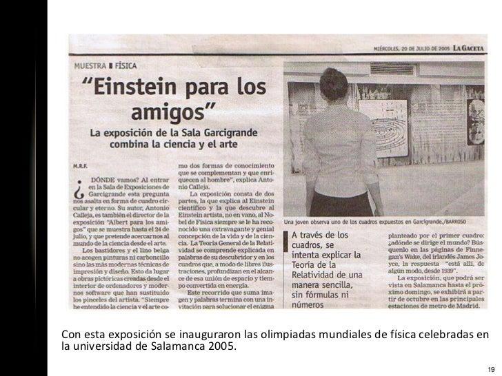 www.arte-ciencia.esDatos de contacto:Montserrat AlumbrerosTeléfono: 658.469.461Francisco J. SánchezTeléfono: 619.20.87.31d...