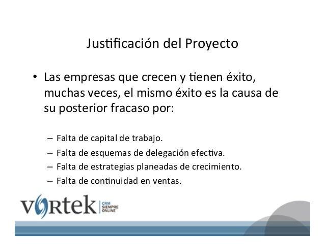 ACELERACION DE EMPRESAS EN MEXICO VORTEK Slide 2