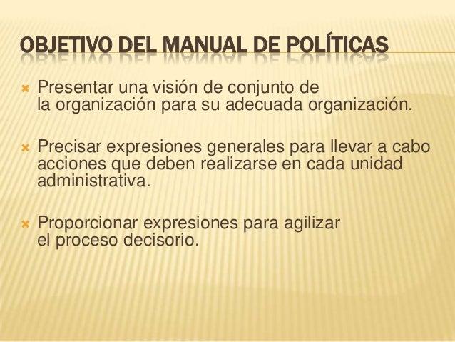 Manual de politicas for Manual de restaurante pdf
