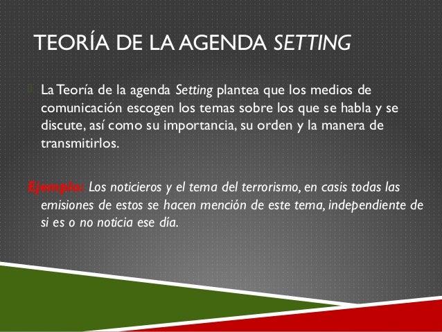 Presentacion aguja hipodermica y agenda setting (final)