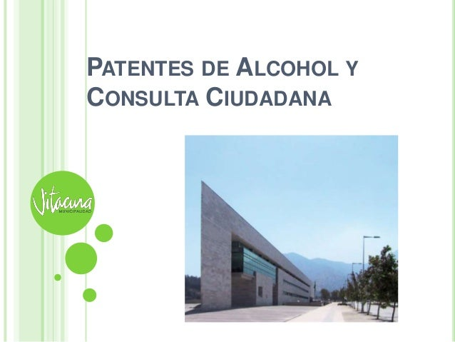 PATENTES DE ALCOHOL YCONSULTA CIUDADANA
