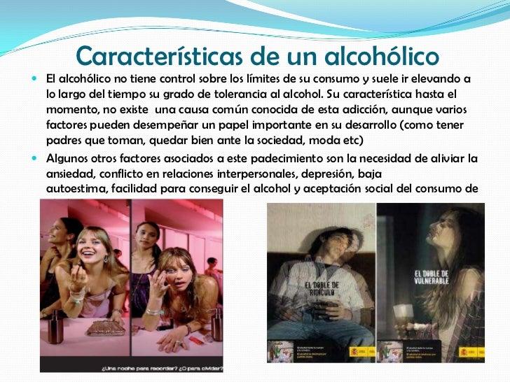 Las personas con la dependencia alcohólica