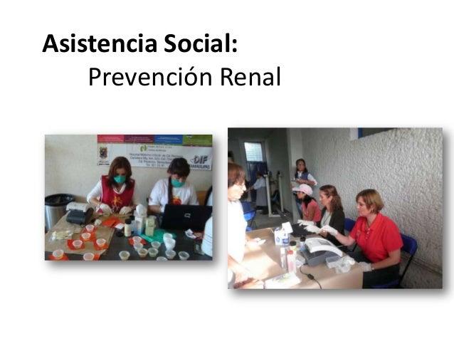 Asistencia Social:Prevención Renal