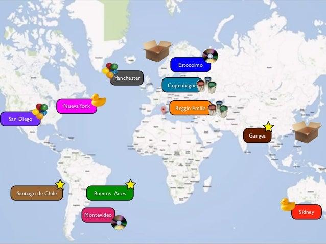 el mapa mundial de las escuelas21: experiencia de formación gamificada Slide 15