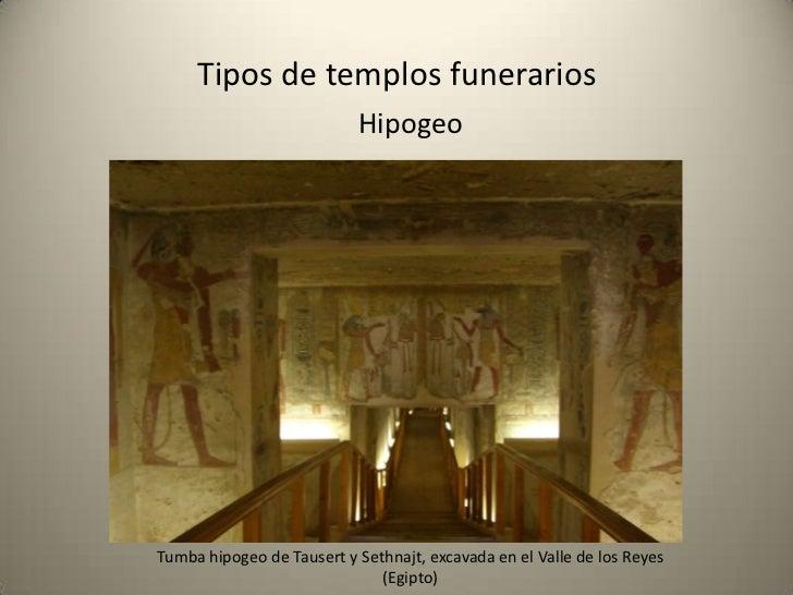 Tipos de templos funerarios              Hemispeos       Hemispeos, en Petra, (Jordania).