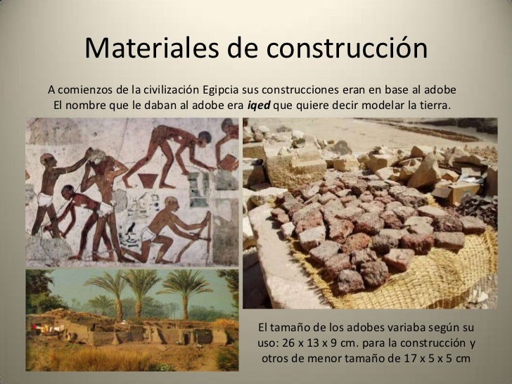 Arquitectura del antiguo egipto architectu of ancient - Materiales de construccion las palmas ...