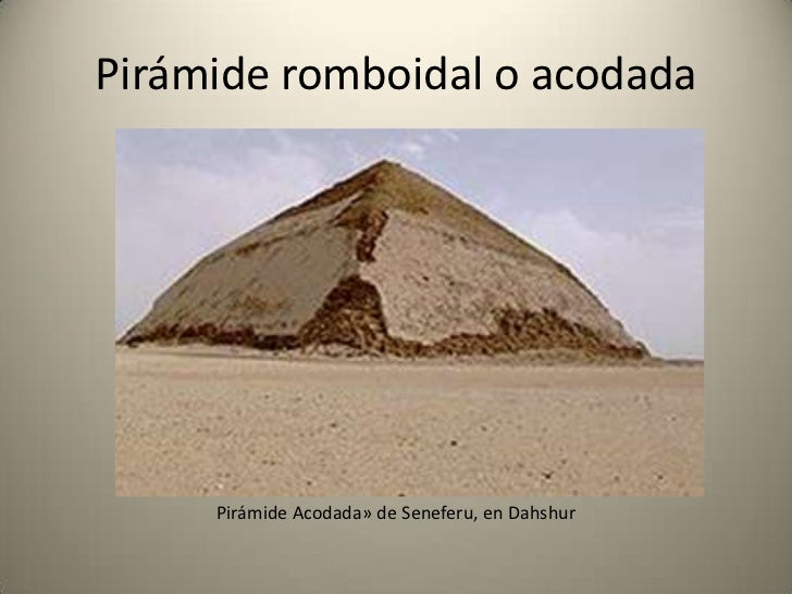 Teorías de la construcción de las            pirámides