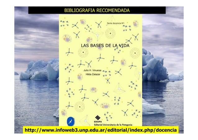 BIBLIOGRAFIA RECOMENDADA http://www.infoweb3.unp.edu.ar/editorial/index.php/docencia