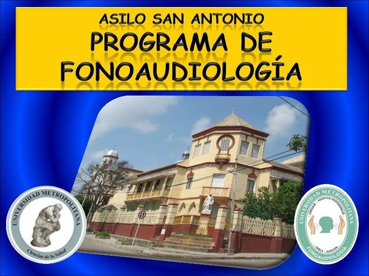 Presentacion asilo for Asilo de ancianos pdf