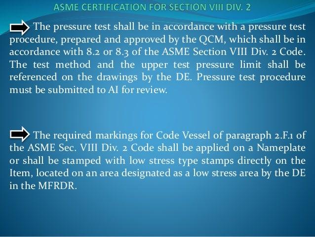 Presentacion asme seccion viii division 2 2013 - Asme sec viii div 2 ...