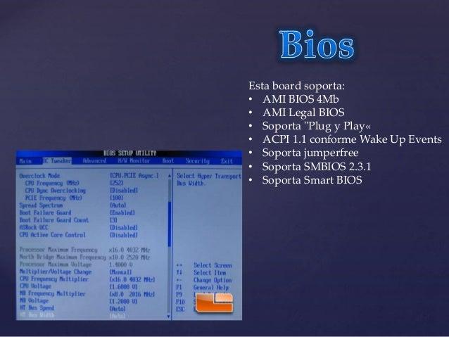 Panel Entrada/Salida - 1 x Puerto ratón PS/2 - 1 x Puerto teclado PS/2 - 1 x puerto Serie: COM1 - 1 x puerto VGA - 4 x Pue...