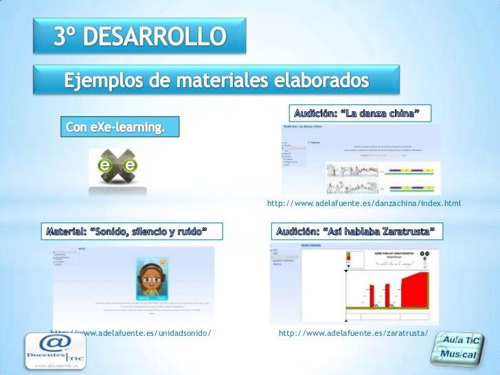 Facilitan la evaluación y control. </li></li></ul><li>Objetivos<br />Rediseñar del área de música de 5º de primaria en un ...