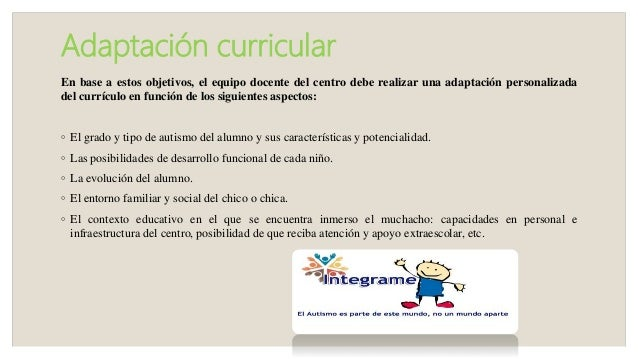 Estrategias Educativas Para Niños Con Autismo