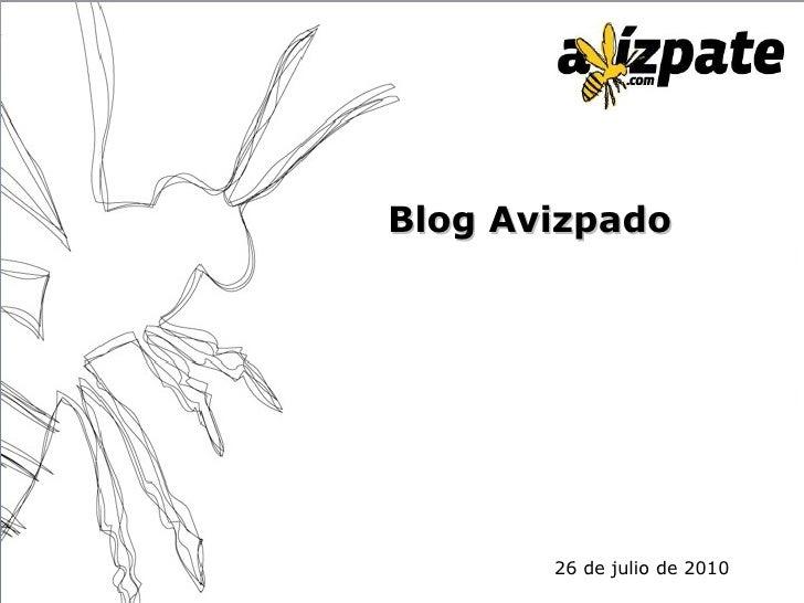 Blog Avizpado 26 de julio de 2010