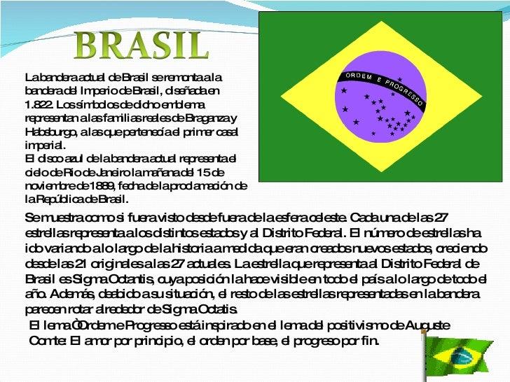 bandera brasil banderas significado actual