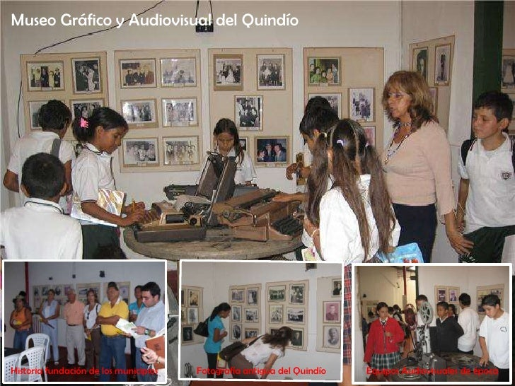 Museo Gráfico y Audiovisual del Quindío<br />Historia fundación de los municipios<br />Fotografía antigua del Quindío<br /...
