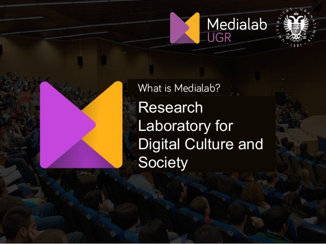 1 What is Medialab? Research Laboratory for Digital Culture and Society