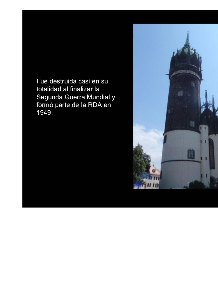 Dresde fue bombardeada doce semanas antes de la capitulación de la Alemania nazipor parte de la Royal Air Force británica ...