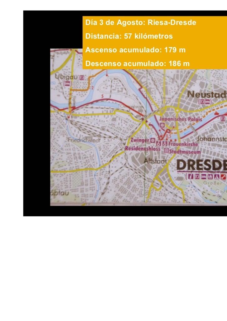Para llegar a Ústí Nam Labem, nuestro fin de etapa por hoy