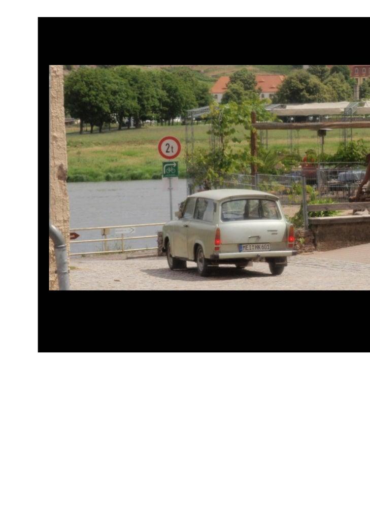 Algunas casas nosrecuerdan que el río Elbaen ocasiones puededesbordarse.