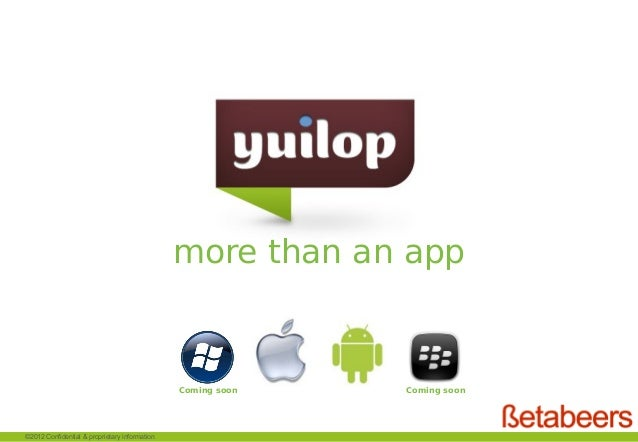 more than an app                                               Coming soon   Coming soon                                  ...