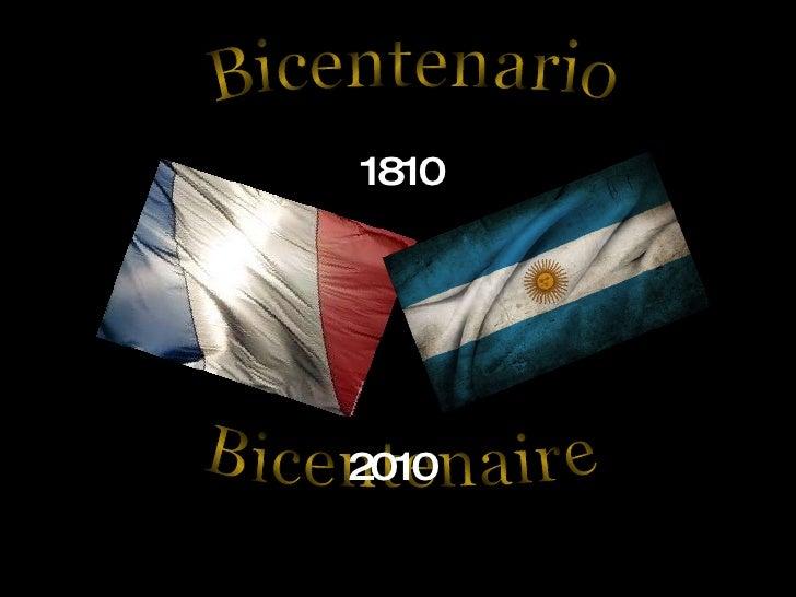 Bicentenario Bicentenaire 1810 2010