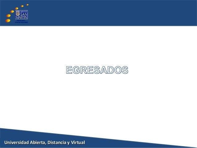 Universidad Abierta, Distancia y VirtualUniversidad Abierta, Distancia y Virtual